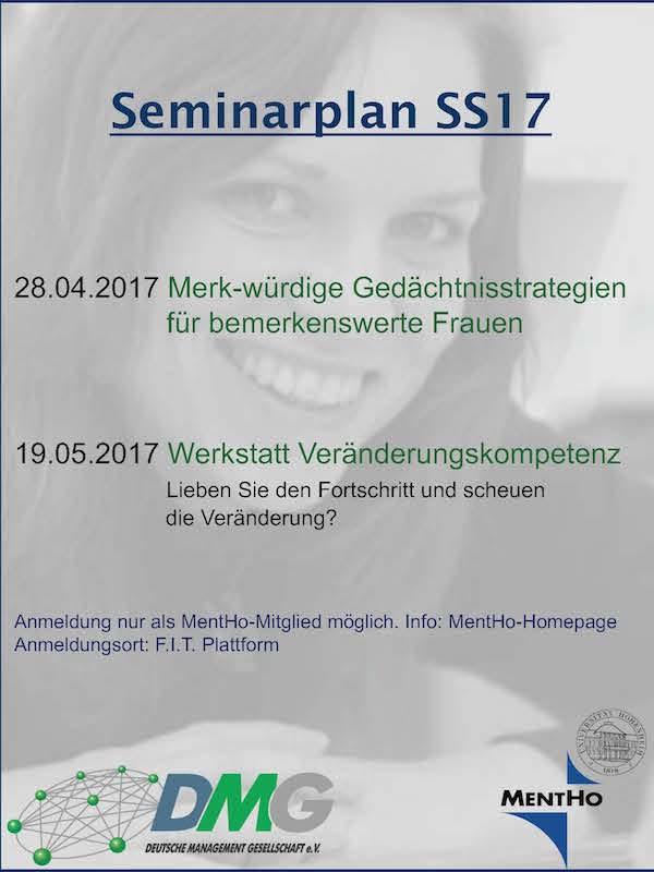 DMG-Seminar: Geschäftsstelle MentHo